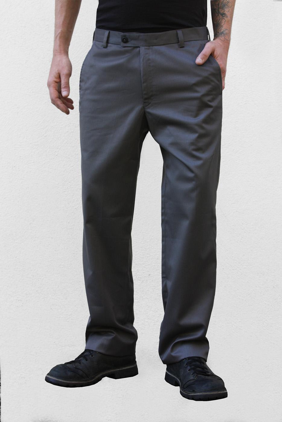 super popular d8702 e7ba5 Pantalon casual gris - Serpiente