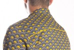 Baïsap - Mens beach shirts - Scale - Printed short sleeve shirts for men - #2508