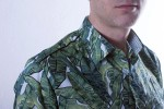 Baïsap - Leaf shirt - Banana - Mens slim fit shirt - #1489