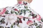 Baïsap - Roses dress shirt - White Roses - White floral shirt for men - #2341