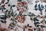 Baïsap - Mens floral dress shirts - Lily - Floral print on off-white light viscose - #1758