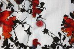 Baïsap - Printed shirts - Autumn - Bright abstract print on white cotton - #1842