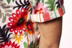 Baïsap - Mens floral shirts short sleeve - Pop - Vintage short sleeve button up - #2590
