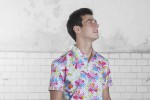 Baïsap - Floral short sleeve shirt - Bangkok - 70s shirts - colorful and waisted - #1312