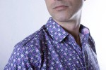 Baïsap - Floral short sleeve shirt - Graphic - Poplin dress shirt, slim fit - #1572