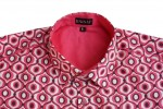 Baïsap - Pink dress shirt short sleeves - Tagada - Mens pink dress shirts - #993