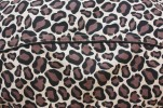 Baïsap - Mens sleeveless shirts - Cheetah - Leopard print shirt - mandarin collar - #1274