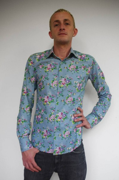 Baïsap - Camisa liberty – British - Camisa estampada liberty