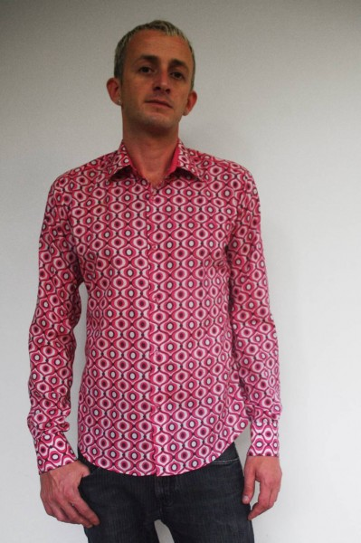 Baïsap - Pink dress shirt - Tagada - Mens pink dress shirts