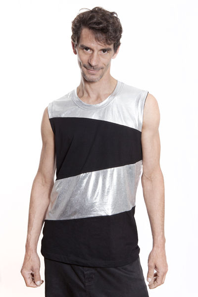 Baïsap - Mens silver tank top - Cool tank tops mens