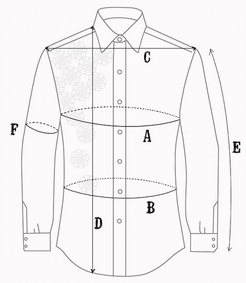 Guide Des Tailles Chemise Baisap