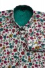 Baïsap - Mens floral dress shirts- Cornflower - Mens floral dress shirts- Cornflower - #1827