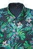 Baïsap - Slim fit Hawaiian shirts - Rice Grain - Tropical shirts, light cambric cotton - #1685