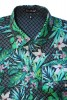 Baïsap - Long sleeve Hawaiian shirts - Rice Grain - Mens tropical shirts, light cotton cambric - #1681